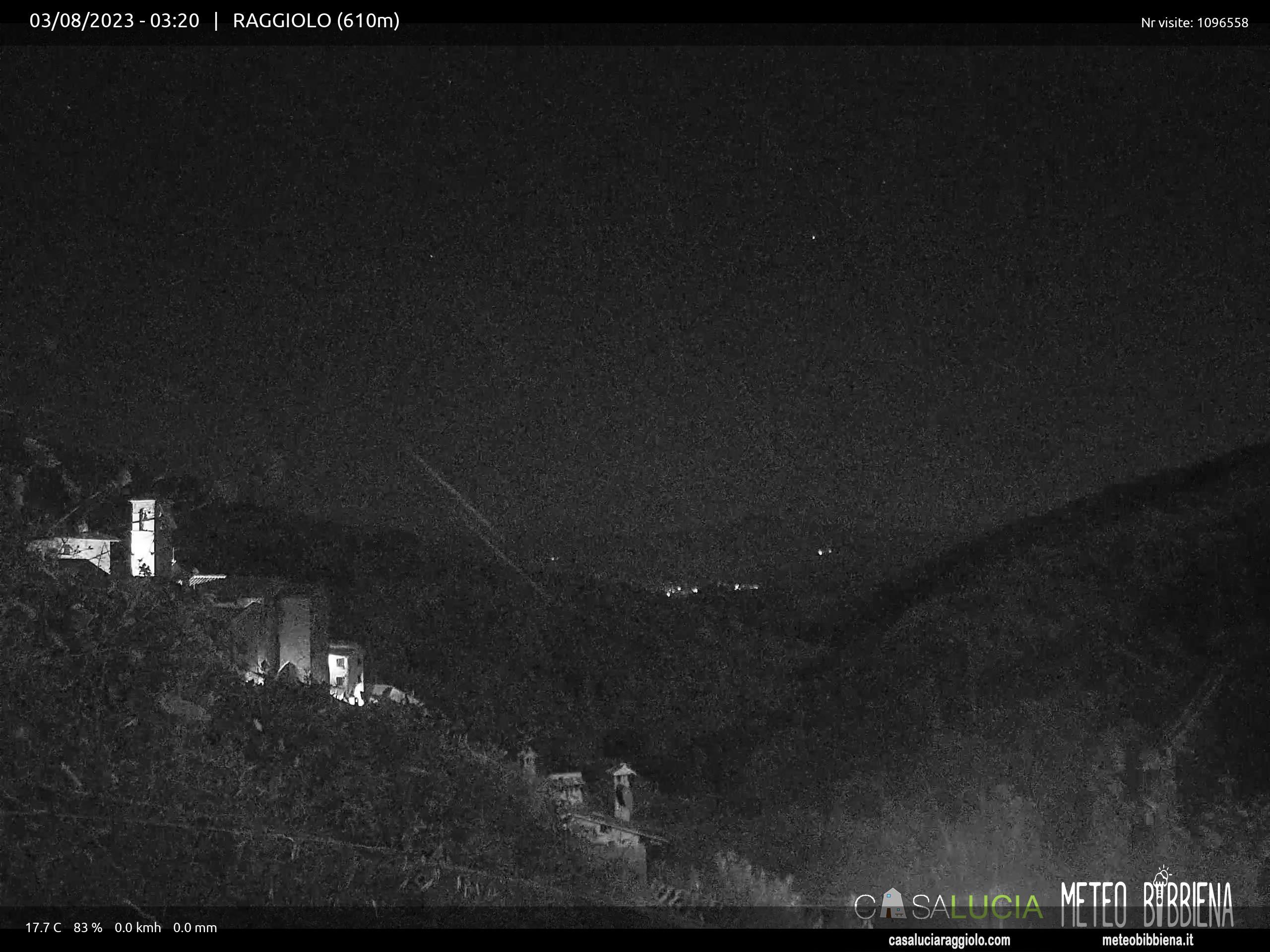 webcam Raggiolo, webcam provincia di Arezzo, webcam Toscana